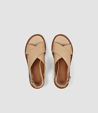 Womens Ruse Sandal (LIGHT CARAMEL) - product_image_alt_text_4