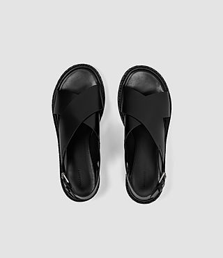 Mujer Ruse Sandal (Black) - product_image_alt_text_4