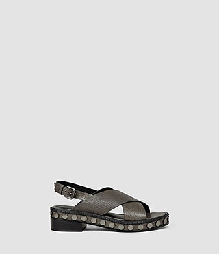 Donne Ruse Sandal (Dark Grey) -