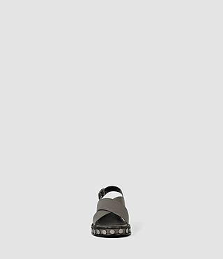 Women's Ruse Sandal (Dark Grey) - product_image_alt_text_2