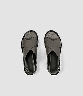 Women's Ruse Sandal (Dark Grey) - product_image_alt_text_4