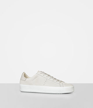 Womens Safia Sneaker (Stone) - product_image_alt_text_1