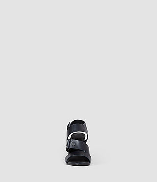 Womens East Heel Sandal (Navy) - product_image_alt_text_2