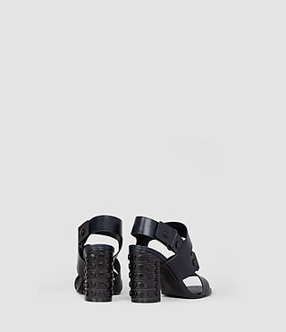 Womens East Heel Sandal (Navy) - product_image_alt_text_3