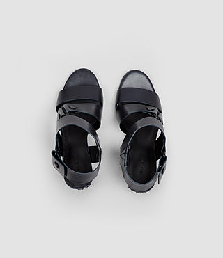 Womens East Heel Sandal (Navy) - product_image_alt_text_4