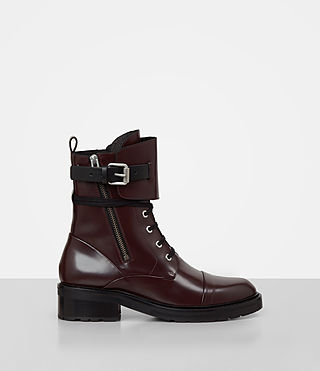 Donne Daria Boot (MAHOGANY RED)
