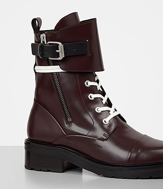 Mujer Daria Boot (MAHOGANY RED) - product_image_alt_text_2
