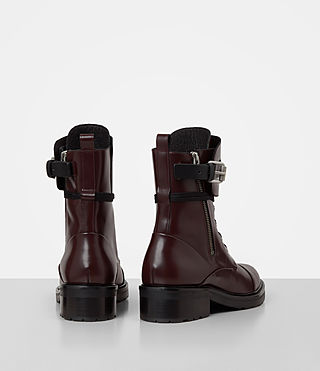 Mujer Daria Boot (MAHOGANY RED) - product_image_alt_text_5