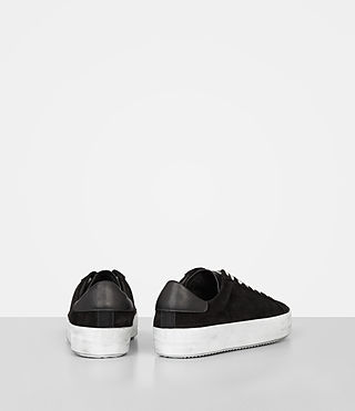Mujer Safia Suede Sneaker (Black) - product_image_alt_text_5