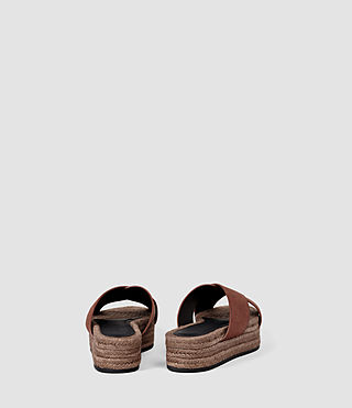 Women's Harlem Sandal (BRICK BROWN) - product_image_alt_text_3