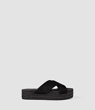 Women's Harlem Sandal (Black)