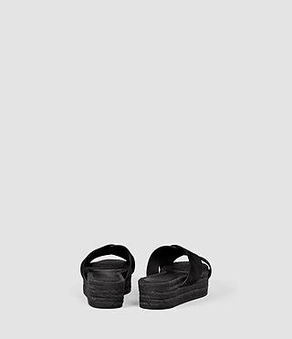 Femmes Harlem Sandal (Black) - product_image_alt_text_3