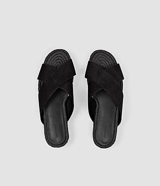 Femmes Harlem Sandal (Black) - product_image_alt_text_4