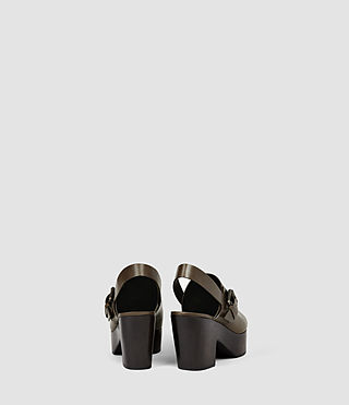 Womens Gothenberg Shoe (Dark Khaki) - product_image_alt_text_3
