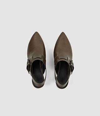 Mujer Gothenberg Shoe (Dark Khaki) - product_image_alt_text_4