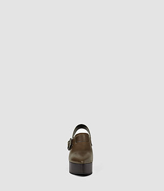 Women's Gothenberg Shoe (Dark Khaki Green) - product_image_alt_text_2