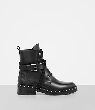 Women's Dakota Military Boot (Black) - Image 1