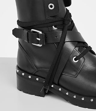Women's Dakota Military Boot (Black) - Image 2