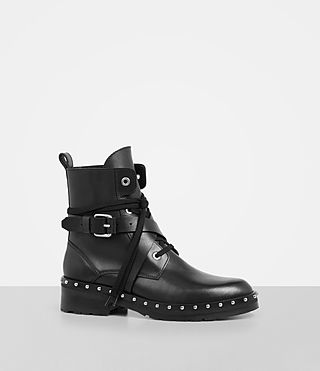 Women's Dakota Military Boot (Black) - Image 3