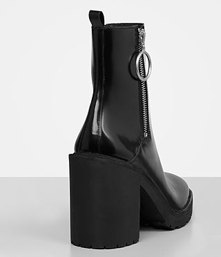 Womens Caleb Boot (Black) - product_image_alt_text_2