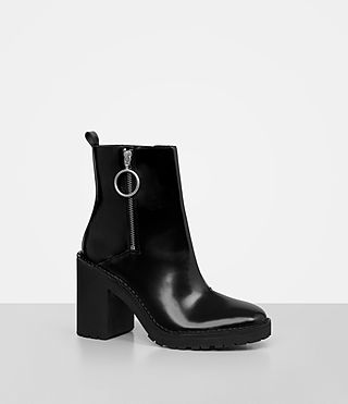 Womens Caleb Boot (Black) - product_image_alt_text_3