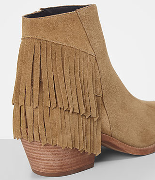 Donne Salerno Suede Boot (Mustard) - product_image_alt_text_2