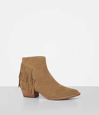 Donne Salerno Suede Boot (Mustard) - product_image_alt_text_3