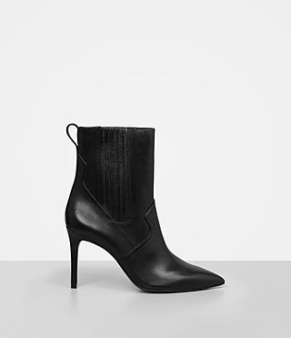 Women's Xain Heel Boot (Black)