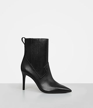 Donne Xain Heel Boot (Black) - product_image_alt_text_3