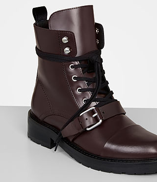 Womens Donita Boot (OXBLOOD RED) - Image 2