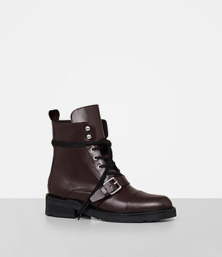 Womens Donita Boot (OXBLOOD RED) - Image 3