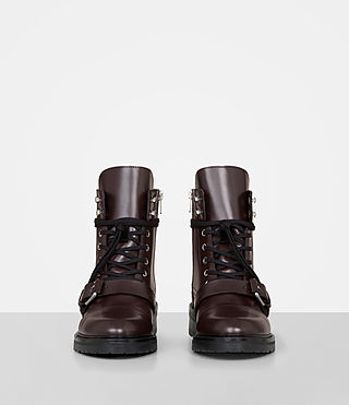 Womens Donita Boot (OXBLOOD RED) - Image 4