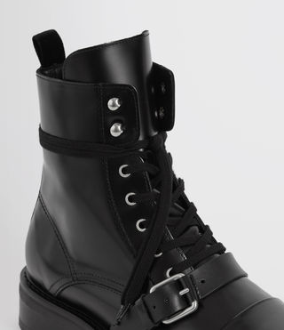 Womens Donita Boot (Black) - Image 2
