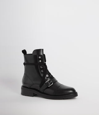 Womens Donita Boot (Black) - Image 3