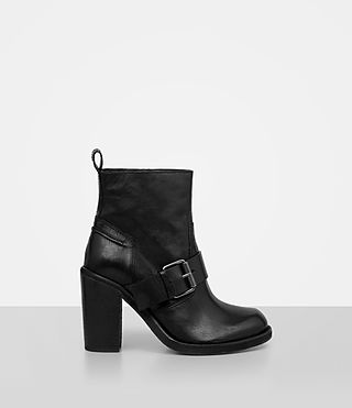 Womens Zadie Heeled Boot (Black)