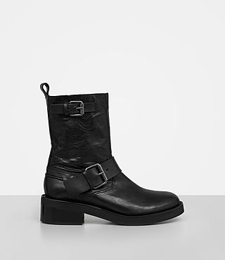 Womens Zadie Biker Boot (Black)