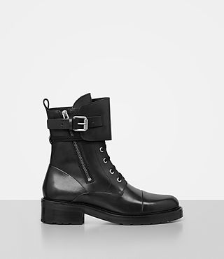 Damen Daria Boot (Black) -