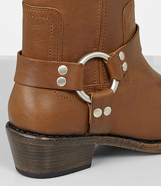 Womens Faye Boot (Tan) - Image 2