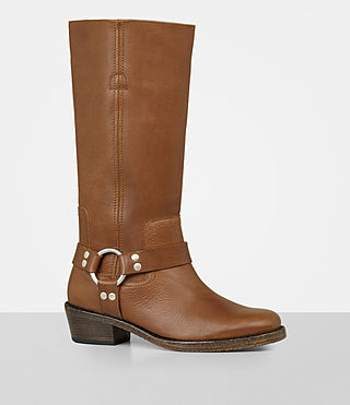 Womens Faye Boot (Tan) - Image 3