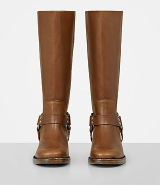 Womens Faye Boot (Tan) - Image 4