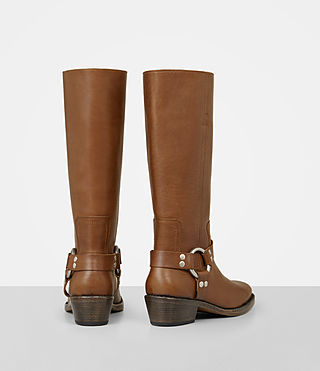 Womens Faye Boot (Tan) - Image 5