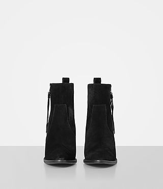 Women's Lorna Suede Boot (Black) - product_image_alt_text_4