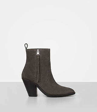 Womens Lorna Suede Boot (Grey)