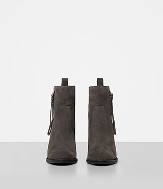 Damen Lorna Suede Boot (Grey) - product_image_alt_text_4