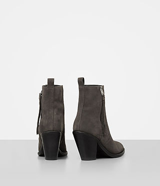 Damen Lorna Suede Boot (Grey) - product_image_alt_text_5