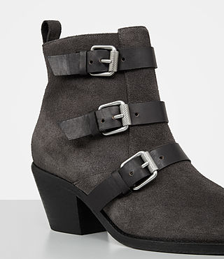 Women's Lulu Suede Boot (Grey) - product_image_alt_text_2