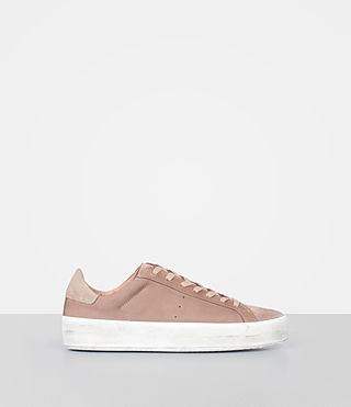 Womens Safia Sneaker (SEPIA PINK) - product_image_alt_text_1