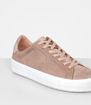 Womens Safia Sneaker (SEPIA PINK) - product_image_alt_text_2