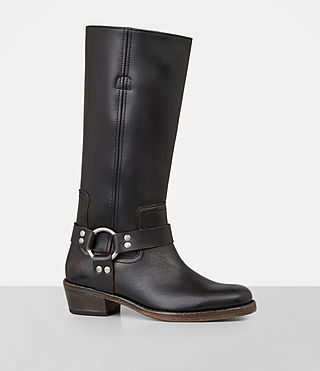 Womens Faye Boot (Black) - Image 3