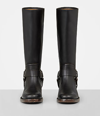 Womens Faye Boot (Black) - Image 4